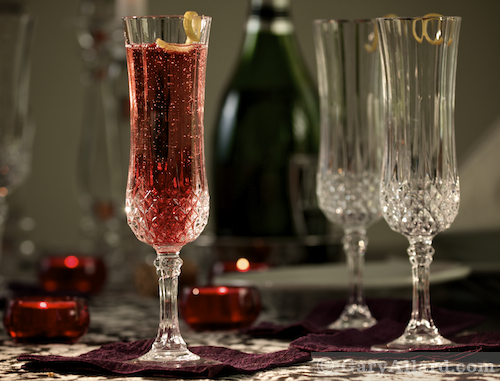 Kir Royale Cocktail copyright 2009 Gary Allard